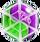 BWS3 Duo Green-Purple bubble under spider web