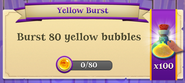 BWS3 Quests Yellow Burst 80x100