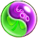 BWS3 Duo Green-Purple bubble