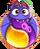BWS3 Bat Duo Yellow-Purple bubble