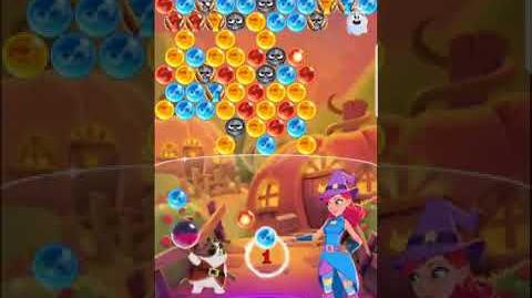 Bubble Witch 3 Saga Level 558 (First Look 👀) Boosters