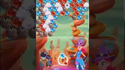 Bubble Witch 3 Saga Level 247 ~ No Boosters ~ 3 stars