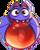 BWS3 Bat Red bubble