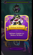 BWS3 Defeat Wilbur level - Defeat