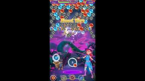 Bubble Witch 3 Saga Level 761 No Boosters
