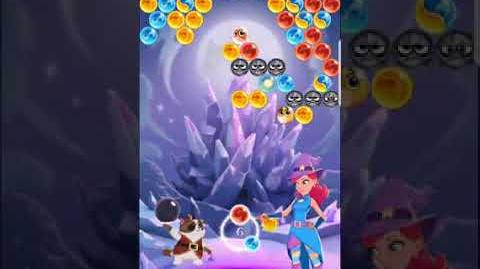 Bubble Witch 3 Saga Level 563 (First Look 👀) Boosters
