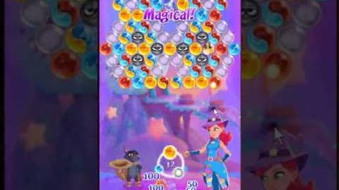 Bubble Witch 3 Saga Level 131 ~ 3 stars ~ no boosters