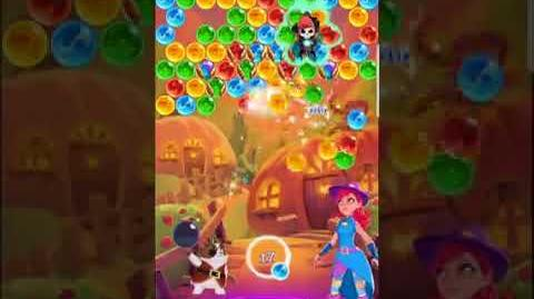 Bubble Witch 3 Saga Level 560 (First Look 👀) Last Level 4 Sept. 2017 - One Magic Booster