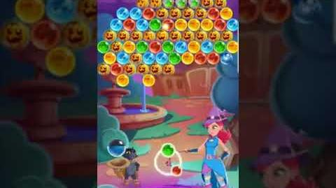 Bubble Witch 3 Saga ~ Lucy's Discovery Level 5 ~ Boosters