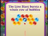 Line Blast Bubble
