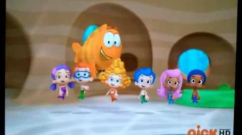Bubble Guppies, Outside Song
