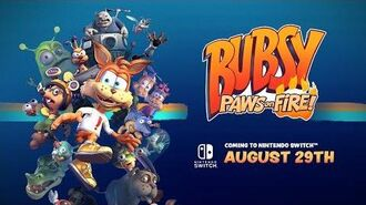 Bubsy Paws on Fire! Switch Launch Trailer