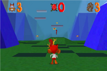 Bubsy 3D Gameplay