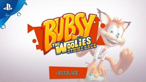 Bubsy The Woolies Strike Back – Gameplay Trailer PS4-0