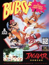 Bubsy Jaguar cover