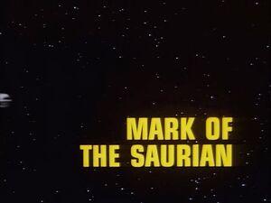Mark of the Saurian title card