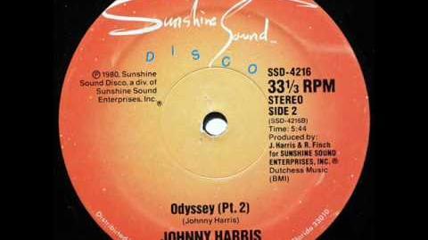 Johnny Harris - Odyssey (Pt.2)(1980)