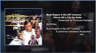 Filmscore Fantastic Presents Buck Rogers in the 25th Century Plan to Kill a City the Suite