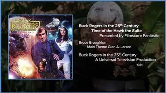 Filmscore Fantastic Presents Buck Rogers in the 25th Century Time of the Hawk the Suite