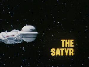 The Satyr title card