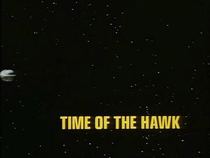 Time of the Hawk title card