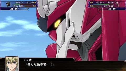 スーパーロボット大戦X ブラディオン 全武装 Super Robot Taisen X - Bradyon All Attacks