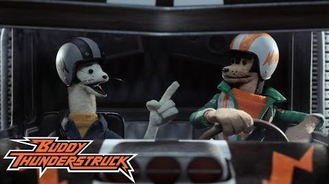Buddy Thunderstruck - Truck bashing action!