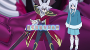 Kyoya Gaen with Inverse Omni Lord Cards