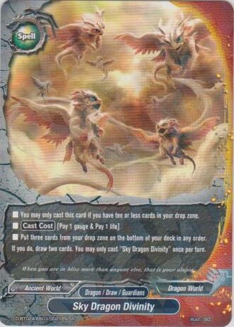 Sky dragon divinity