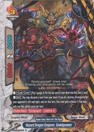 Hazard dragon emperor gadelgoamer