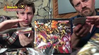 """Buddyfight Unboxing Special X-BT03 """"Overturn! Thunder Empire!!"""" (ft. voices of Gaito & Batzz)"""
