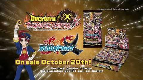 Future Card Buddyfight X Booster Pack Vol