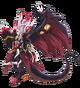 Demonic Dragon Deity of the Black Sun, Gaen Full Body