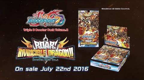 Future Card Buddyfight Triple D D-BT02 Roar! Invincible Dragon!!