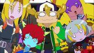 Tetsuya and his Magic World buddies