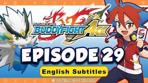Sub Episode 29 Future Card Buddyfight Ace Animation