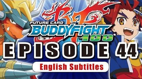 Sub Episode 44 Future Card Buddyfight Hundred Animation