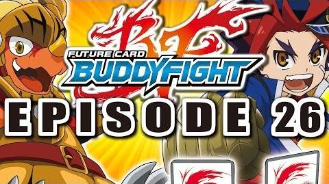 Episode 26 Future Card Buddyfight Animation