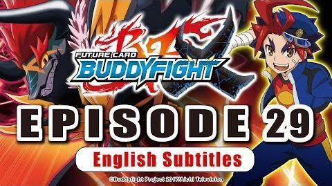 Sub Episode 29 Future Card Buddyfight X Animation