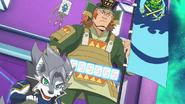 Tenka with Blade Beast of Blinder, Mikazuki Munechika (character)