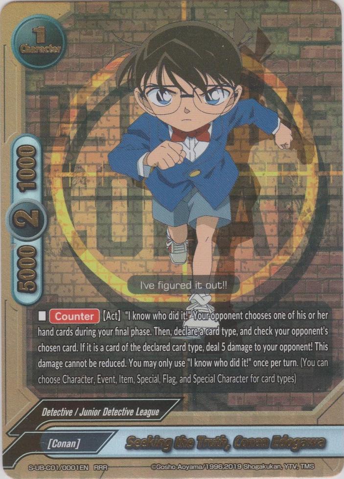 Seeking the Truth, Conan Edogawa | Future Card Buddyfight