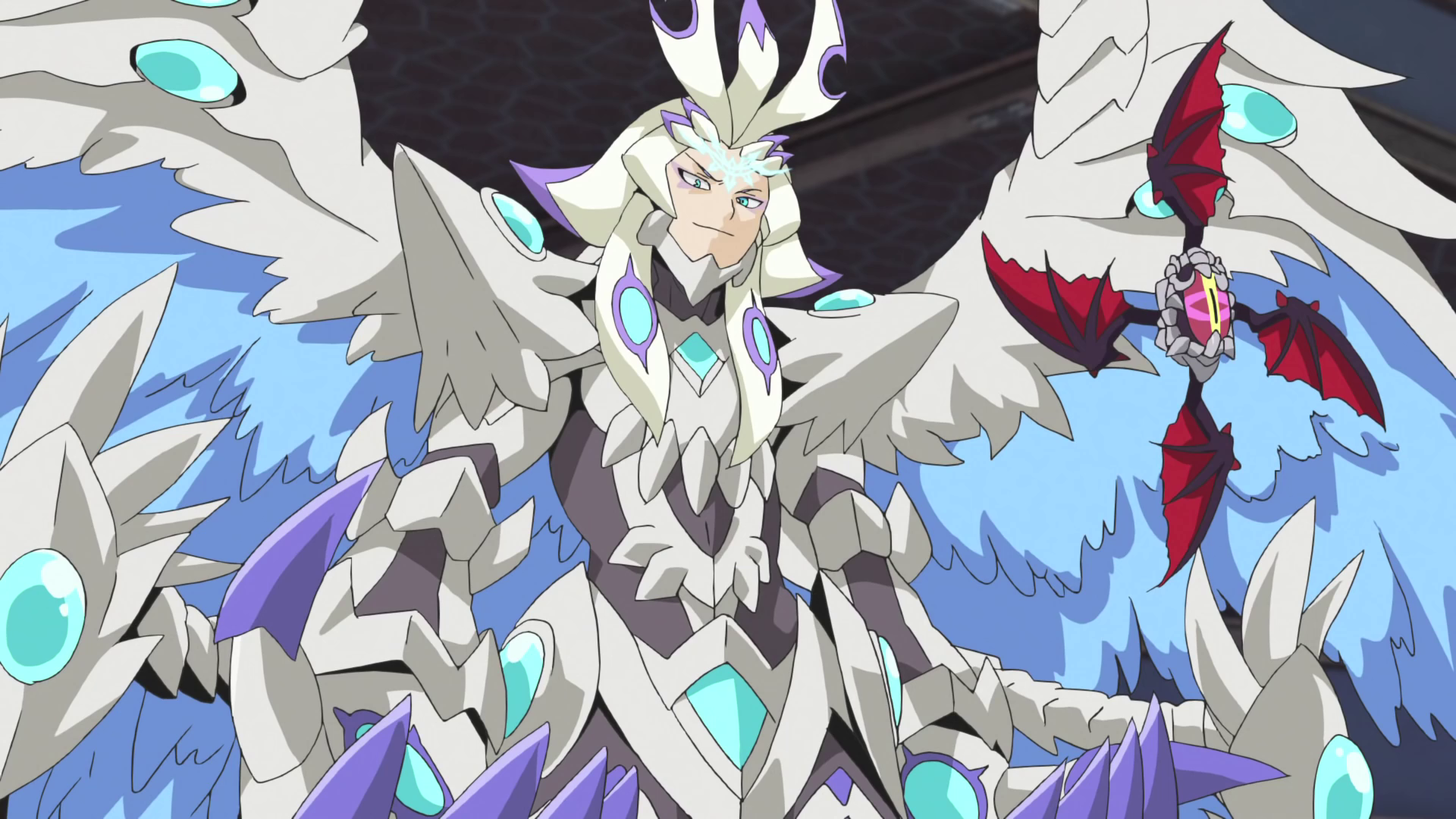 White supreme dragon deity of creations gaen anime nc 2 png