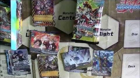 CobaltClaw Opens Booster Boxes Buddyfight - Miracle Impack 2