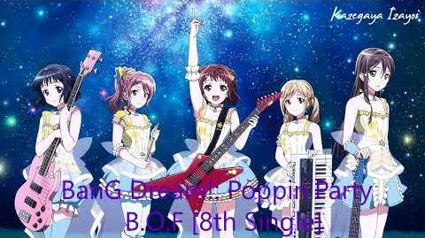 BanG Dream!; - Poppin'Party - B.O.F 8th Single