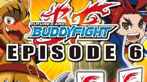 Episode 6 Future Card Buddyfight Animation