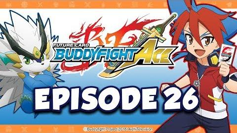 Episode 26 Future Card Buddyfight Ace Animation