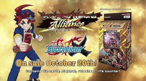 Future Card Buddyfight X Trial Deck Vol. 3 Thunderous Warlords Alliance