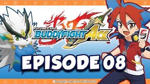 Episode 08 Future Card Buddyfight Ace Animation