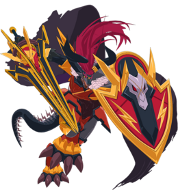 Thunder Emperor Dragon, Barl Batzz Full Body