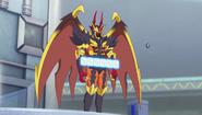J Genesis as Armored Battle Demon, Zetta
